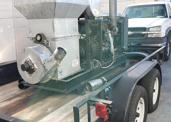 Read 80HP Diesel Snow Blower